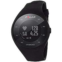 Polar M200, Orologio GPS con Cardiofrequenzimetro Integrato, Monitoraggio attività Fisica e Sonno Unisex-Adulto, Nero, M/L