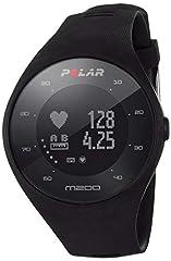 Idea Regalo - Polar M200 Orologio GPS con Cardiofrequenzimetro Integrato, Monitoraggio Attività Fisica e Sonno, Unisex – Adulto, Nero, M/L