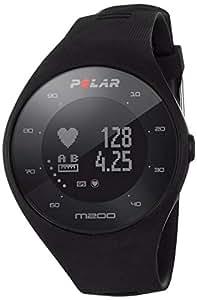 Polar - M200 - Montre Running GPS avec suivi de la Fréquence Cardiaque - Noir - Taille M-L