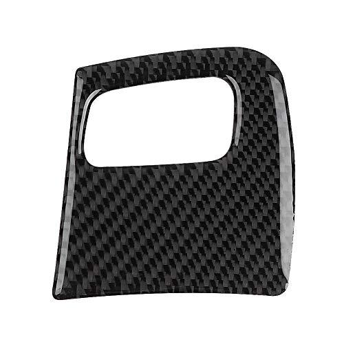 Innenverkleidung Schlüsselloch Rahmenverkleidung, Karbonfaser Autoinnenverkleidung für Schlüsselloch-Rahmenabdeckung Passend für A4 / B8 / A5 / 8T / S5 08-15