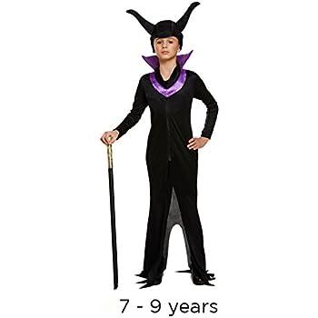 Wings Halloween Bad Girls Fancy Dress Costume Age 5-13 Child Fallen Dark Fairy