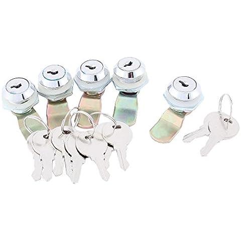 sourcingmap carro presentación cajón cerradura taquilla remotesreplaced 5 piezas