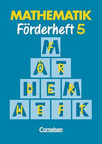 Mathematik Förderschule - Förderhefte / Band 5 - Heft,