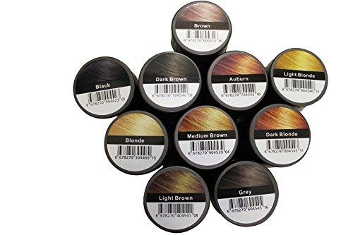 FULLY HAIR FIBERS~23g PREMIUM-DELUXE SCHÜTTHAARE !! verschiede Farben !!~SCHÜTTHAAR~HAARVERDICKUNG~STEUHAARE~HAARAUFFÜLLUNG~BEI HAARAUSFALL (Dunkelbraun (Dark Brown))