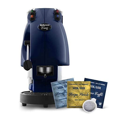 Sewing Machine Caffe A Didiesse Frog Revolution 2Year Guarantee Coffee Pods ESE 44mm Diameter.