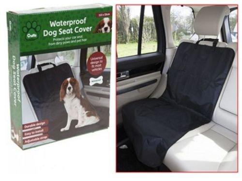 Crufts Pet Dog impermeabile anteriore/posteriore/bagagliaio auto singola protezione sedili tappetino coperta