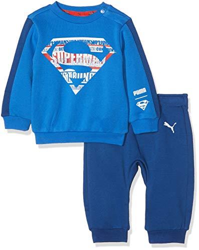 Puma Baby Justice League Jogger B Trainingsanzug, Strong Blue, 86 (Justice Babys League)