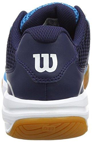 Wilson Unisex-Erwachsene Storm Tennisschuhe Blau (Hawaiian Ocean/Navy/White)