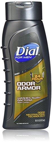 Dial-seife (Zifferblatt Herren Geruch Armor Body Wash, 16Flüssigunzen (2Stück))