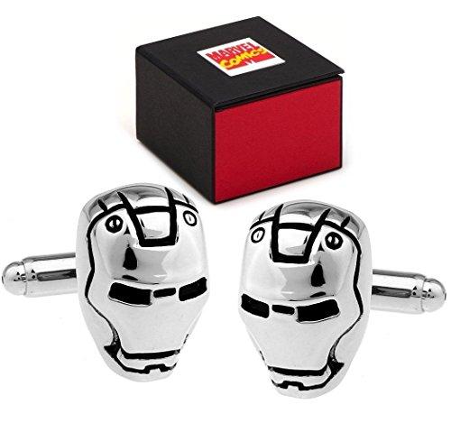marvel-avengers-iron-man-casco-super-heroe-gemelos-color-plata-caja-de-regalo