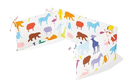 Pinolino Happy Zoo Design by Sieger Bumper for Cot Bed - inexpensive UK light shop.