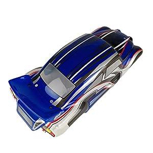 Noradtjcca 1/10 RC Drift Car PVC Karosserie Schutzhülle für VRX R0060BL / R0060G / R0060R / R0205 / R0206 / R0207 On-Road-Auto