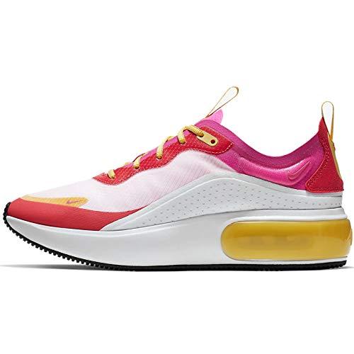 Nike Damen W Air Max Dia Se Leichtathletikschuhe, Mehrfarbig (White/Laser Fuchsia/Ember Glow 000), 39 EU -