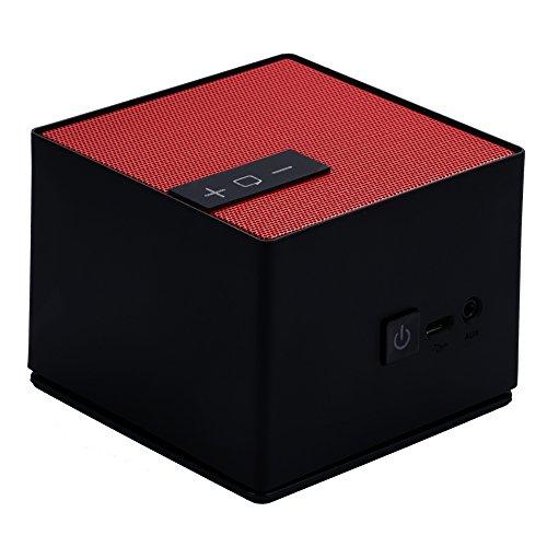 Visenta Mo4 Touch Control Portable Bluetooth 4.0 Lautsprecher, Eingebautes Mikrofon, Kompatibel mit...