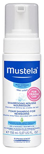 Mustela - Foam Shampoo for Newborns (Cradle Shampoo Cap)
