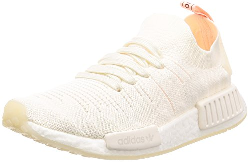 newest collection 90ec7 490c8 adidas NMD R1 Stlt PK W, Zapatillas para Mujer, Blanco Cloud White Clear  Orange