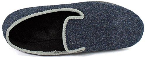 Pantofole Uomo Pantofola In 3 Colori Diverse Misure Unisex Adulto Navy