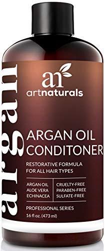 Art Naturals Revitalisant cheveux rincer avec de l'huile d'argan pure - (6 Fl Oz/473 ml)