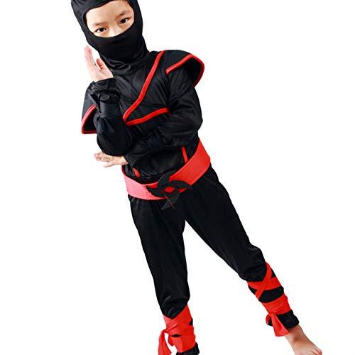 Provide The Best Kind Anime Krieger Kostüme Junge Mädchen Jumpsuit Festival Halloween Bodysuit (Sport-halloween-kostüme Für Jungen)