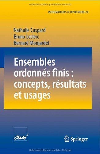 Ensembles ordonn??s finis : concepts, r??sultats et usages pdf