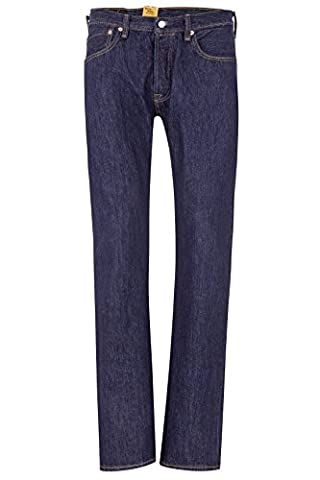 Levi's Herren Jeans Straight Leg 501 ORIGINAL FIT 115 RIN, Farbe: Dunkelblau, Größe: 38/32