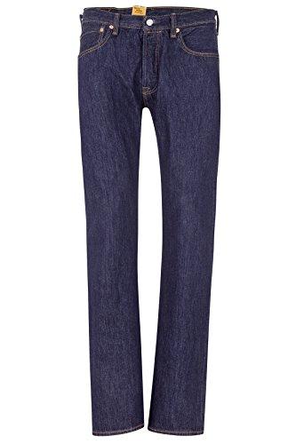 Levi's Herren Jeans Straight Leg 501 ORIGINAL FIT 115 RIN Dunkelblau