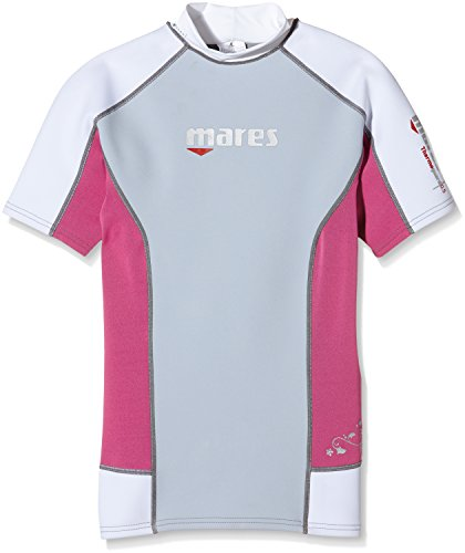 Mares Damen Tauch-shirt Kurzarm Thermo Guard S-Sleeve 0.5 mm, Pink, XL, 412982XLPK (Haut Anzug Tauchen)