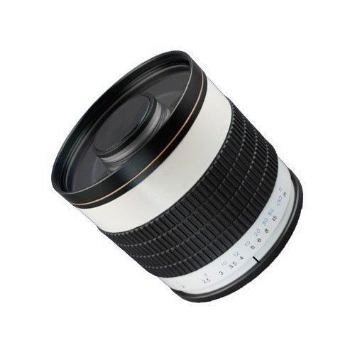 SIOCORE 500mm f6.3 Spiegellinsen Teleobjektiv für MICRO FOUR THIRDS ( m 4/3 bzw. MFT ) Kameras, z.B. passend an OLYMPUS OM-D und PEN , PANASONIC Lumix DMC G Systemkameras