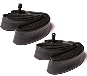 2x Bike MTB Cycle Inner Tubes 26 x 1.75 - 2.125 With SCHRADER VALVE - 26 Inch - Mountain Bike Etc