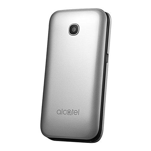 Foto de Alcatel 2051 X 2.4 97g Negro, Plata - Teléfono móvil (Concha, SIM única, 6,1 cm (2.4