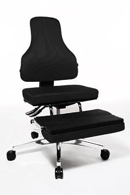 Topstar YO190W50 Bürodrehstuhl Yoga-Sitness 100 / Bezug schwarz