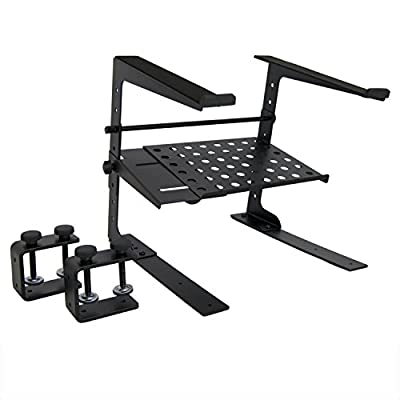 Tiger Laptop Stand with Shelf - Adjustable DJ Stand - inexpensive UK light store.