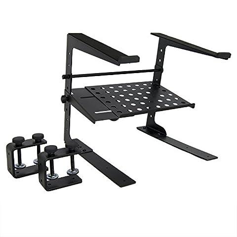 Tiger Laptop Stand with Shelf - Adjustable DJ
