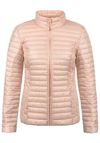 JACQUELINE de YONG Britta Damen Übergangsjacke Steppjacke leichte Jacke gefüttert mit Stehkragen, Größe:XS, Farbe:Rose Smoke