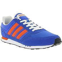 adidas Neo City Racer, Zapatillas para Hombre, Azul (Azul/Energi/Negbas), 42 2/3 EU (8.5 UK)