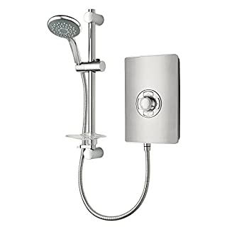 Triton Collection II 9.5kW Electric Shower - Brushed Steel Effect