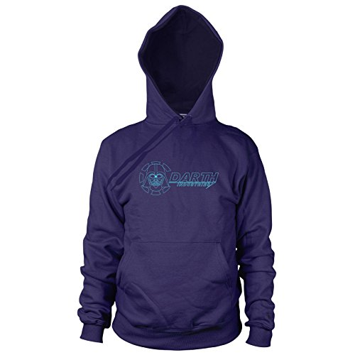 Darth Industries - Herren Hooded Sweater, Größe: XXL, dunkelblau