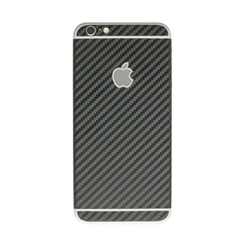 stika.co Strukturierte Haut Aufkleber für Apple iPhone 6/6S 11,9 cm, Black Carbon Fiber, to fit Apple iPhone 6 / 6S 4.7