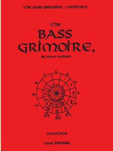 GT3 - The Bass Grimoire Complete by Adam Kadmon (1996) Sheet music