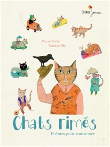 Chats rimés : poèmes pour ronronner
