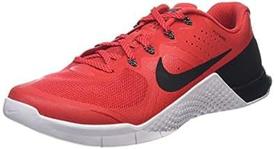 Nike Men's Metcon 2 Action Red/Black White Training Shoe 12 Men US