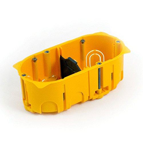 Lyndahl Highend Lautsprecherblende LKL001, LKL002, LKL005 und LKL007 für Lautsprecher, passend für Unterputzdose/Wandeinbaudose Wandanschlussblenden Surround System Unterputzdose 5.1 Dose