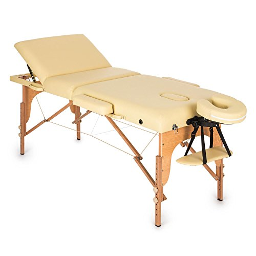 Klarfit MT 500 Table de Massage Pliable de 210cm...