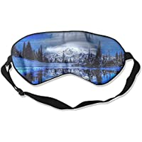 Winter Landscape Scenery Sleep Eyes Masks - Comfortable Sleeping Mask Eye Cover For Travelling Night Noon Nap... preisvergleich bei billige-tabletten.eu