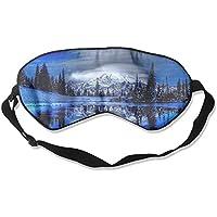 Winter Landscape Scenery Sleep Eyes Masks - Comfortable Sleeping Mask Eye Cover For Travelling Night Noon Nap... preisvergleich bei billige-tabletten.eu