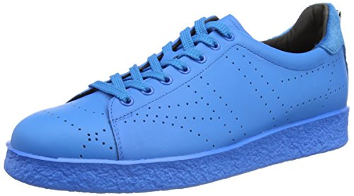 Bikkembergs Best 318 L.Shoe M Leather, Sneaker, Uomo, Blu (Bluette), 42