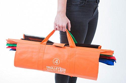 Trolley Bags Original Vibe 62000TB001 Einkaufstaschen, farbig, 4-teilig, wiederverwendbar
