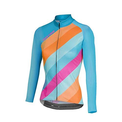 Uglyfrog Erwachsene Funktionsbekleidung Lady Radfahren Jersey Frauen Fahrrad Trikots MTB Straßenberg Bluse Lange ÄrmelFahrrad Reiten Jersey Radsport Jacke