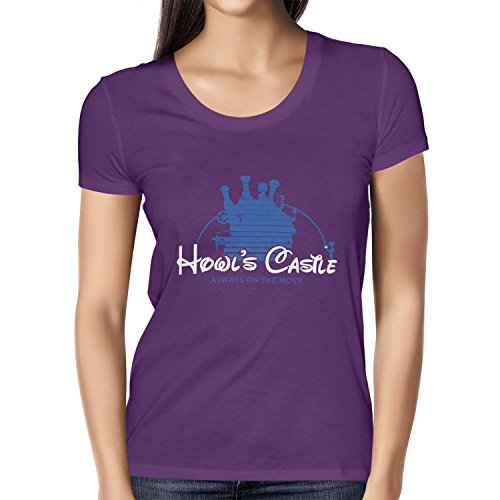 TEXLAB - Howl's Castle - Damen T-Shirt Violett