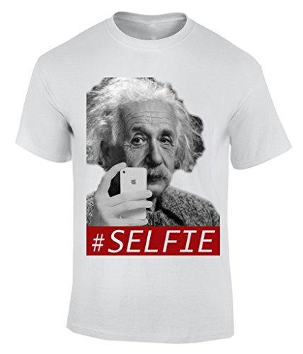 Go fuck your selfie T-Shirt Herren Weiß